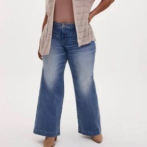 TORRID High Rise Wide Leg Jeans